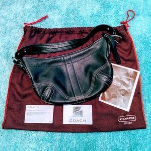 Coach black Soho Hobo bag